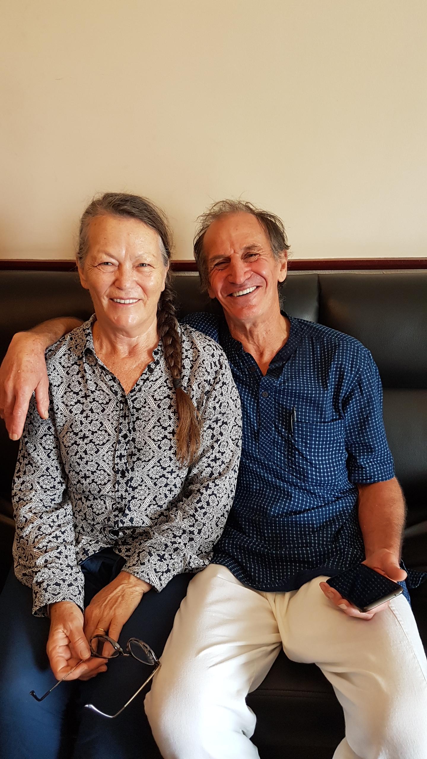 Georgina and Guy Allan client reviews